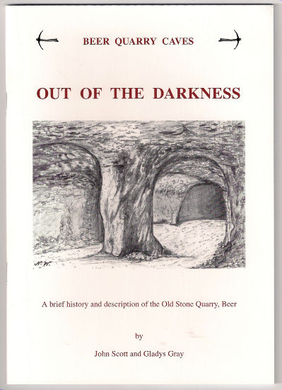 Out of the Darkness, a book on the old mines into Beer Stone, East Devon