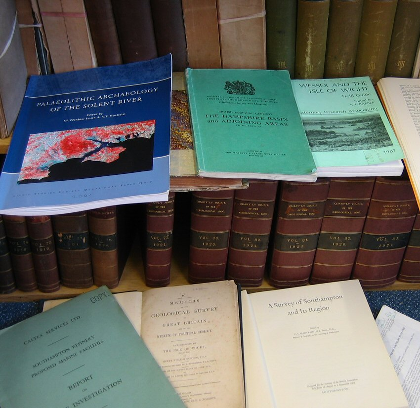 de03f4a2c13 Geology - Solent Bibliography - General by Ian West