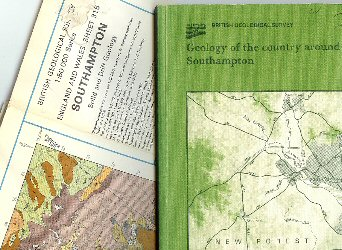 British Geological Survey Memoir and Map 315 for the Southampton Area