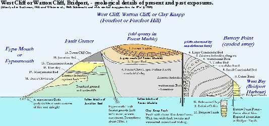 Details of West Cliff or Watton Cliff, West Bay, Bridport, Dorset