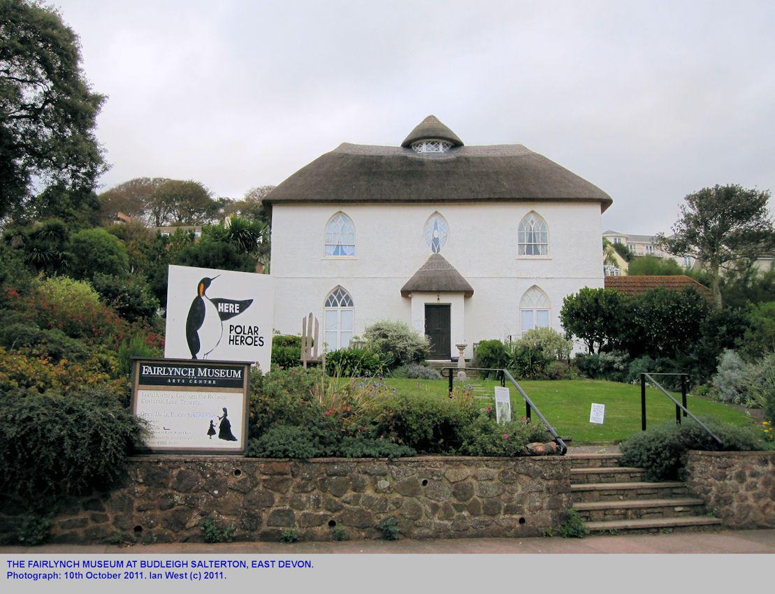 The Fairlynch Museum at Budleigh Salterton, East Devon, October 2011
