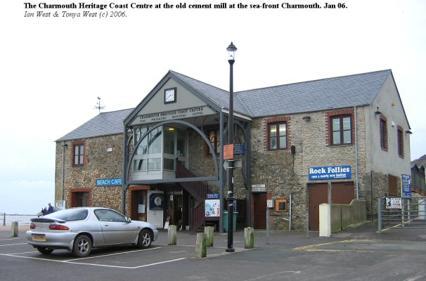 Heritage Centre at the Old Cement Mill, Charmouth, Dorset