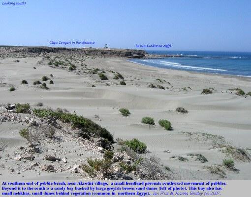 Cyprus - Salt Lake and Coast of a southern Peninsula