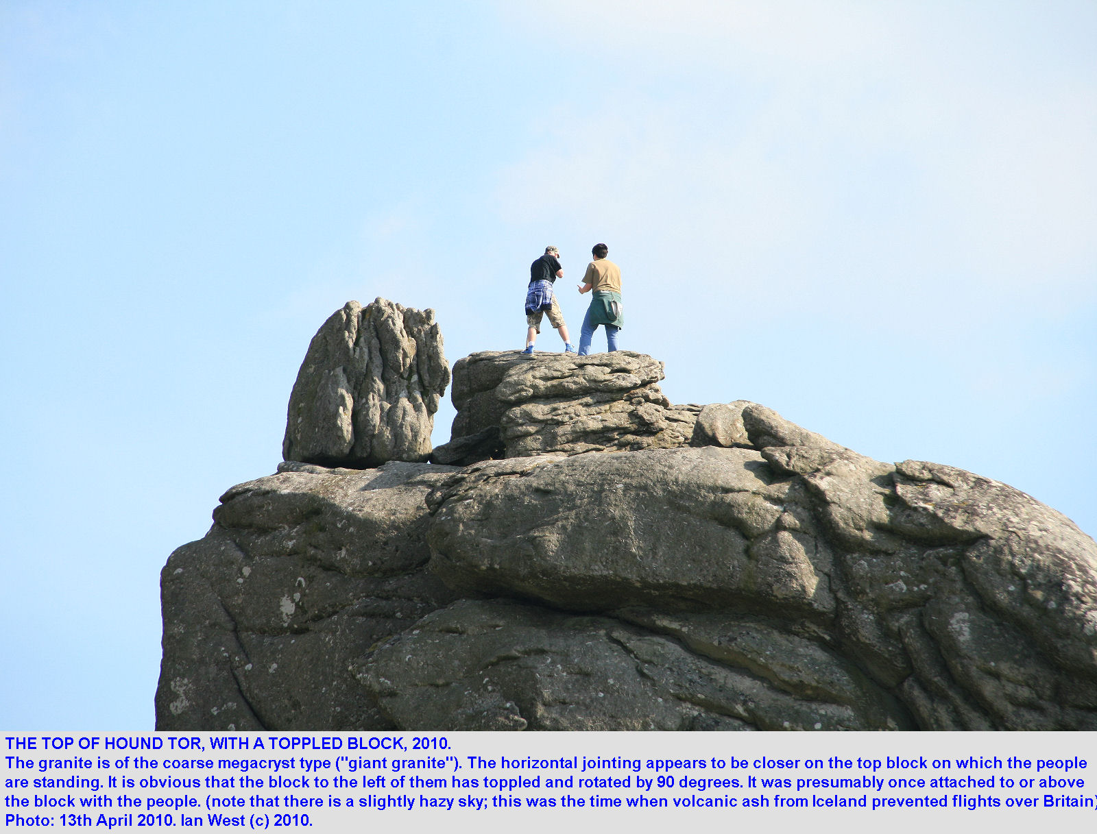 Geology Of Haytor Rocks Dartmoor Devon Field Guide
