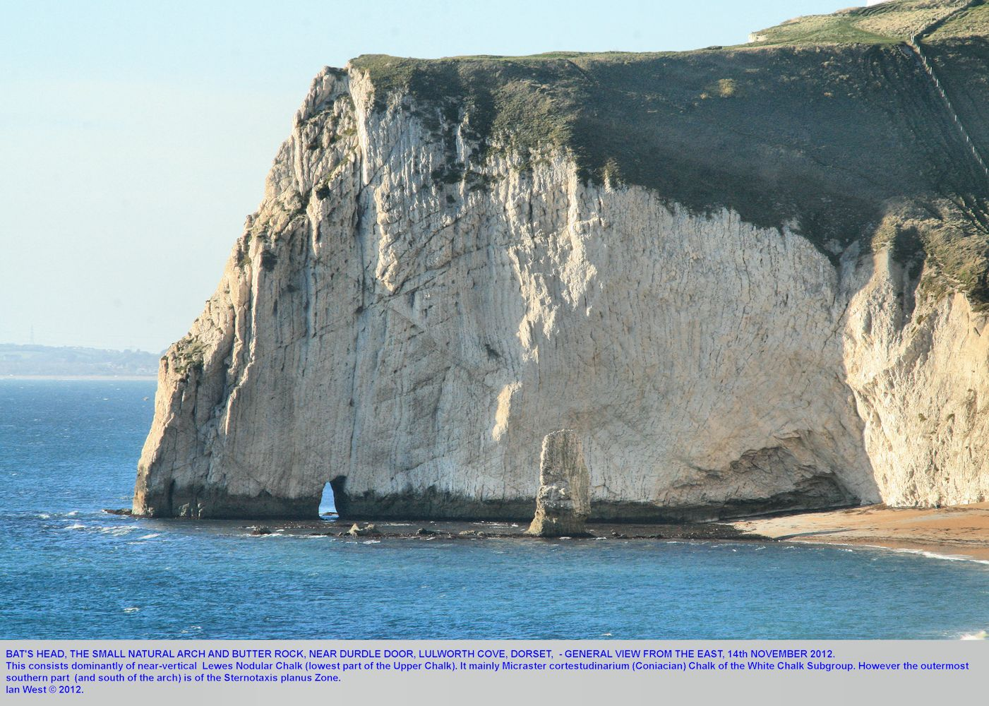 Bat's Head, west of Durdle Door, near Lulworth Cove, Dorset, 14th November 2012
