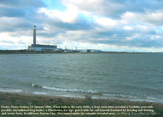 Fawley Power Station, Southampton Water, Solent, 21 January 2006