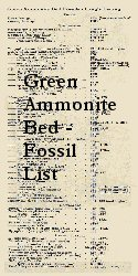 Fossil list for the Green Ammonite Beds - of Lang