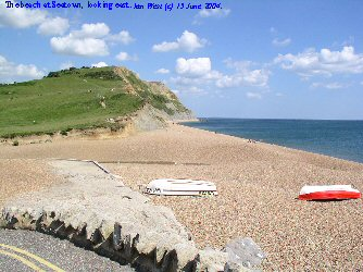 Beach at Seatown, West Dorset
