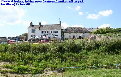 The inn at Seatown, near Chideock, West Dorset