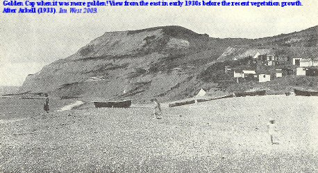 Golden Cap, Dorset in the early 1930s