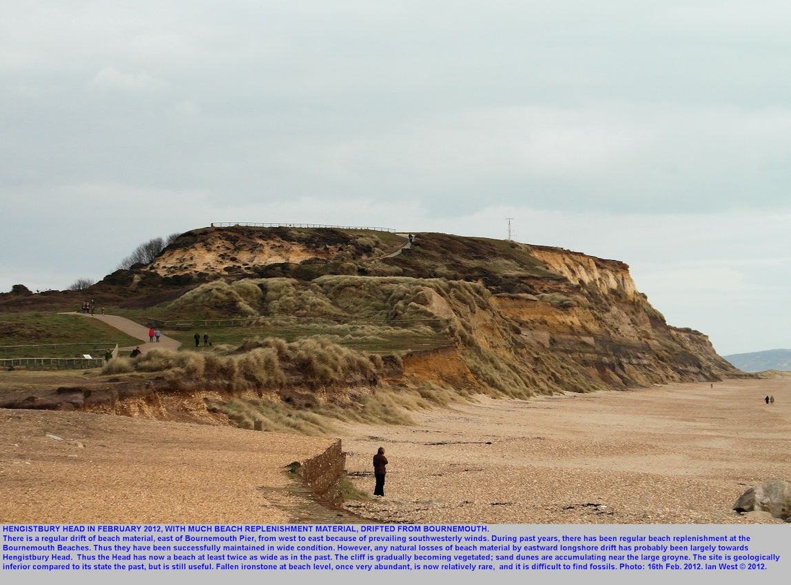 A general view of Hengistbury Head, Bournemouth, Dorset, 16th February 2012