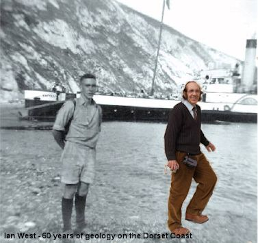 Ian West, more than 60 years geology on the Dorset Coast