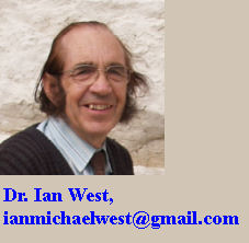 Dr Ian West, author of these webpages