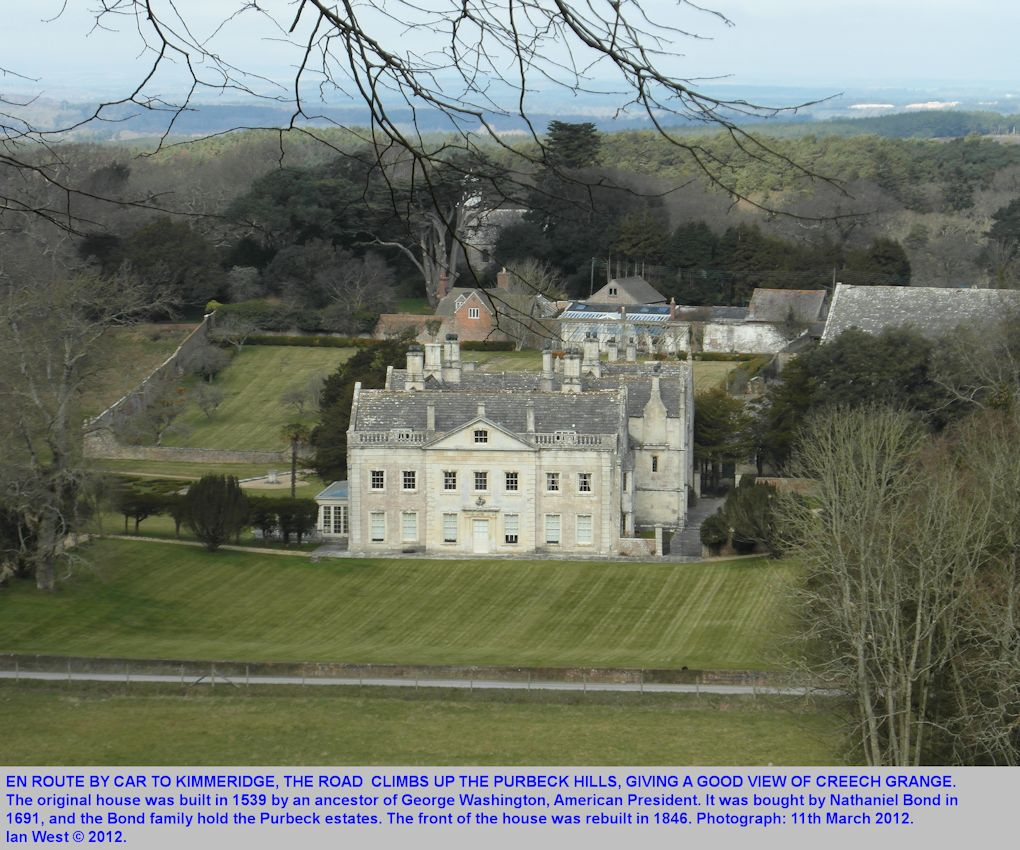 Creech Grange, passed en route by car to Kimmeridge Bay, Dorset, 11th March 2012