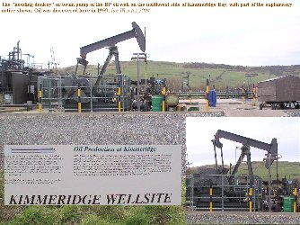 Oil well at Kimmeridge Bay, Dorset
