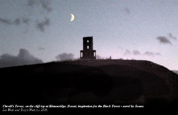 Clavell's Tower at night, Kimmeridge Bay, Dorset