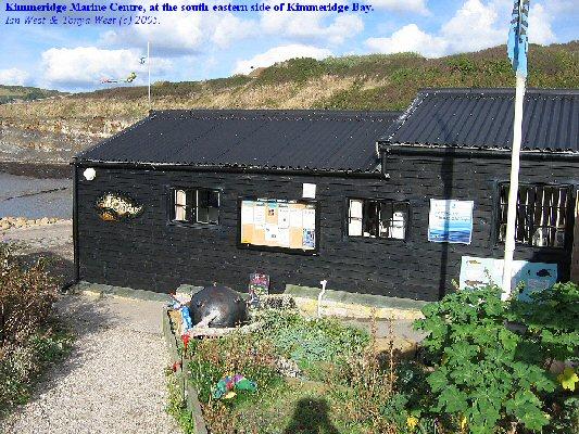 Marine Centre at Kimmeridge Bay, Dorset