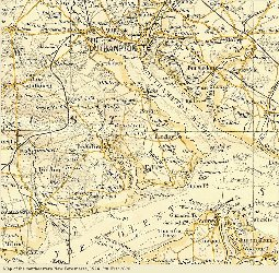 Southeastern New Forest, 1924 map