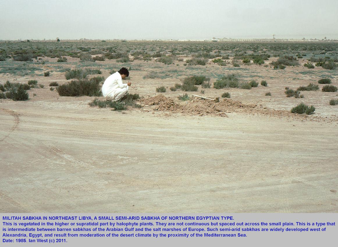 Militah Sabkha, northeastern Libya