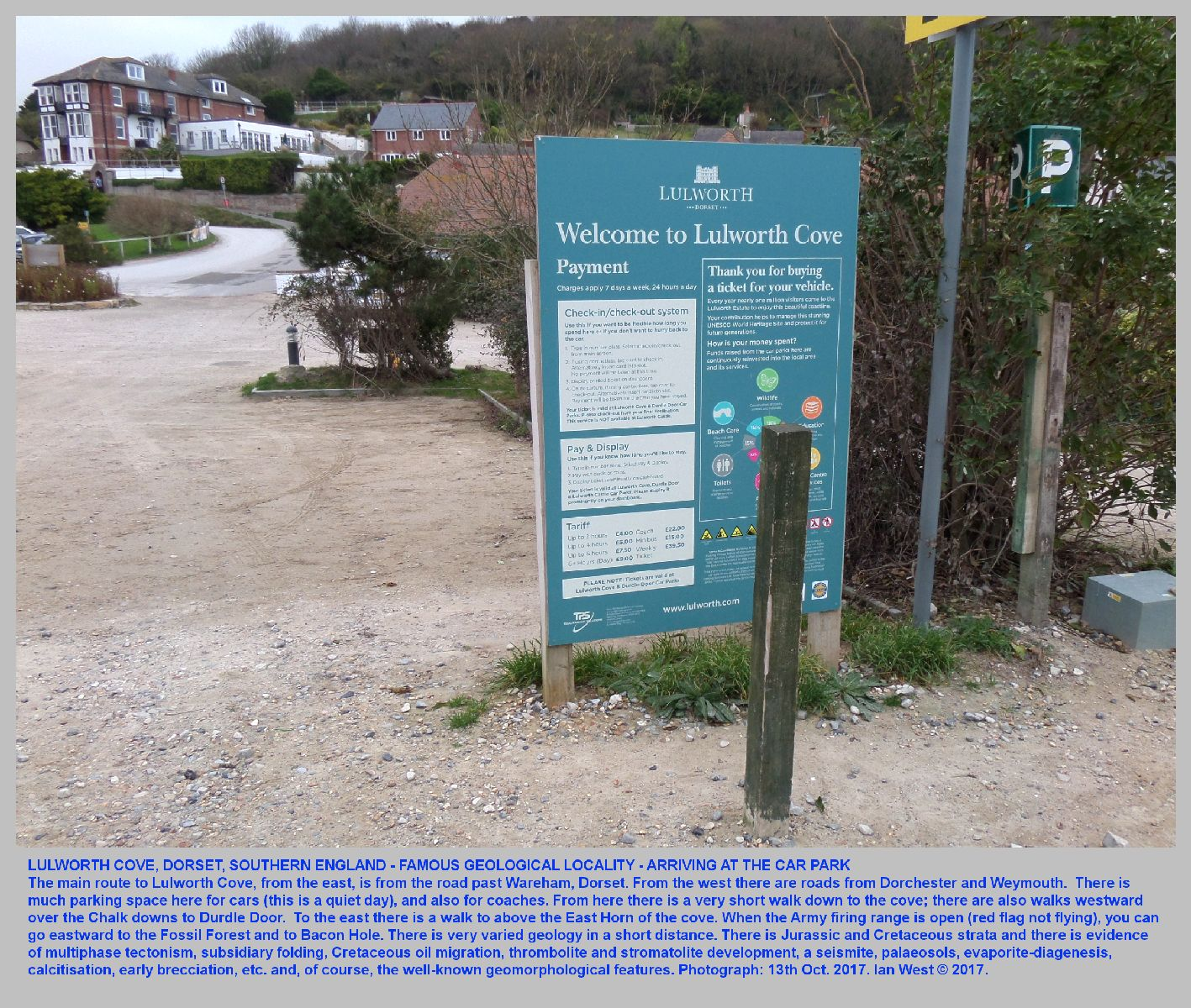 Lulworth Cove - Introduction, Geological Field Guide - By Dr