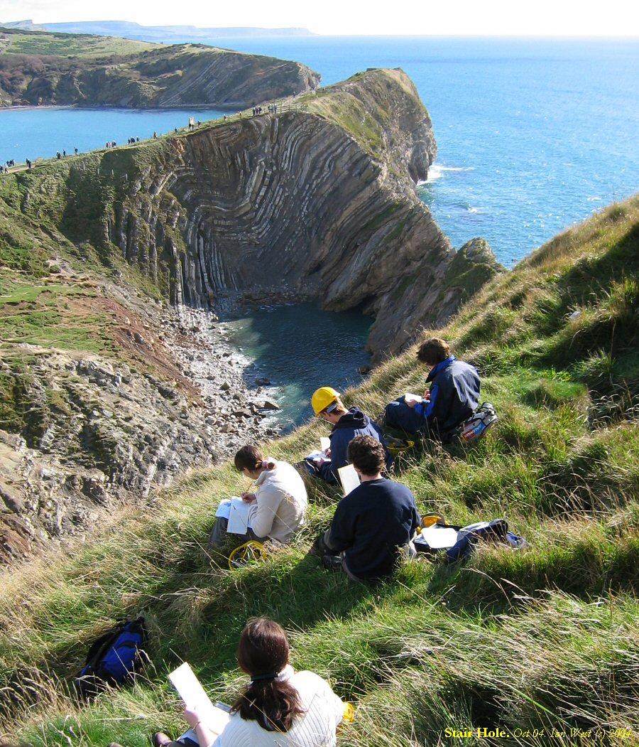 Stair Hole Lulworth Cove Geology By Ian West