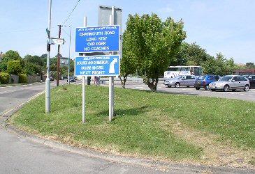Charmouth Road car park, Lyme Regis, Dorset