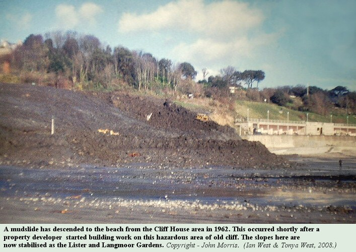 A mudslide in 1962