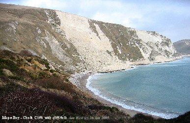Chalk Cliffs of Mupe Bay, Dorset
