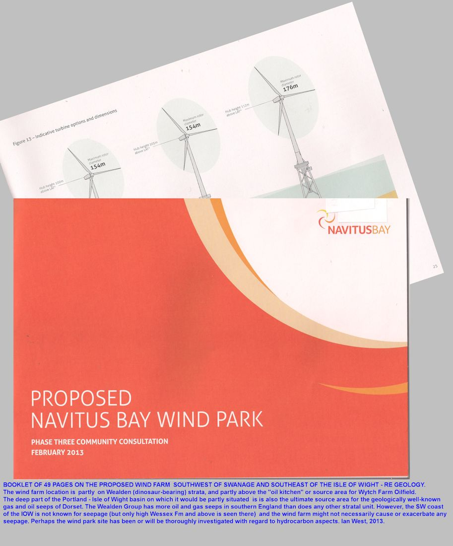 The Navitus Offshore Wind Park, English Channel, Community Consultation Document for Phase 3