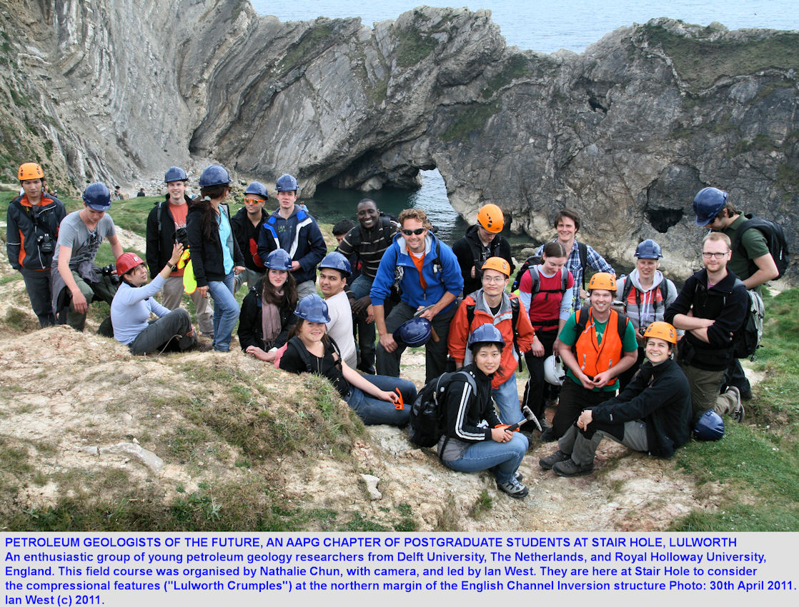 Petroleum geologists of the future - an AAPG Student Chapter from Delft and Royal Holloway Universities