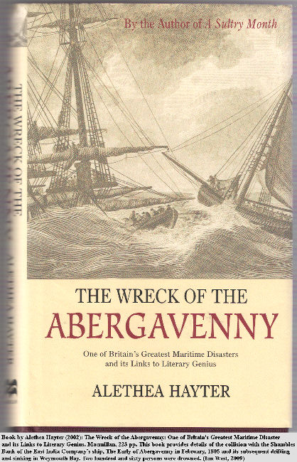 Book on the wrecking of the East Indiaman, The Earl of Abergavenny, on the Shambles Bank, near Portland Bill, Dorset, in 1805