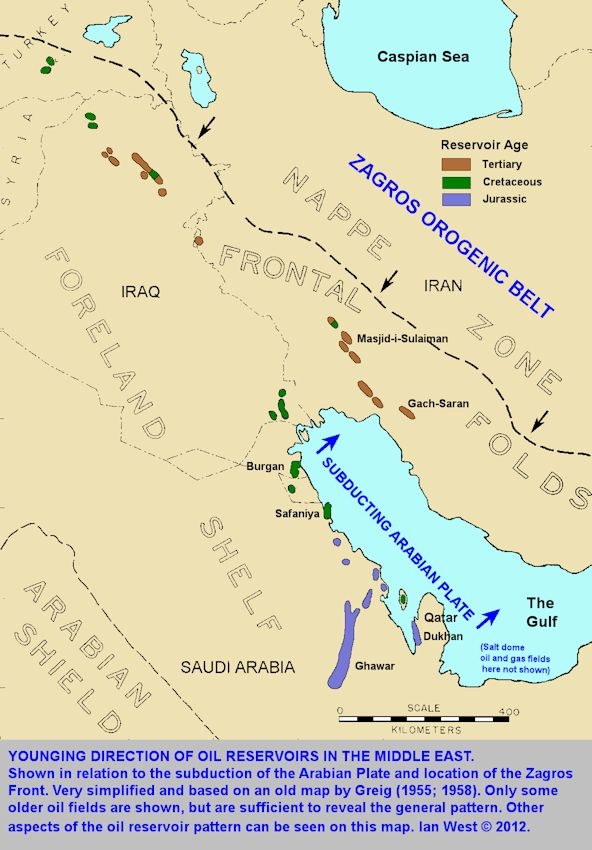 Middle East Map With Mountains And Deserts Map of The Middle East