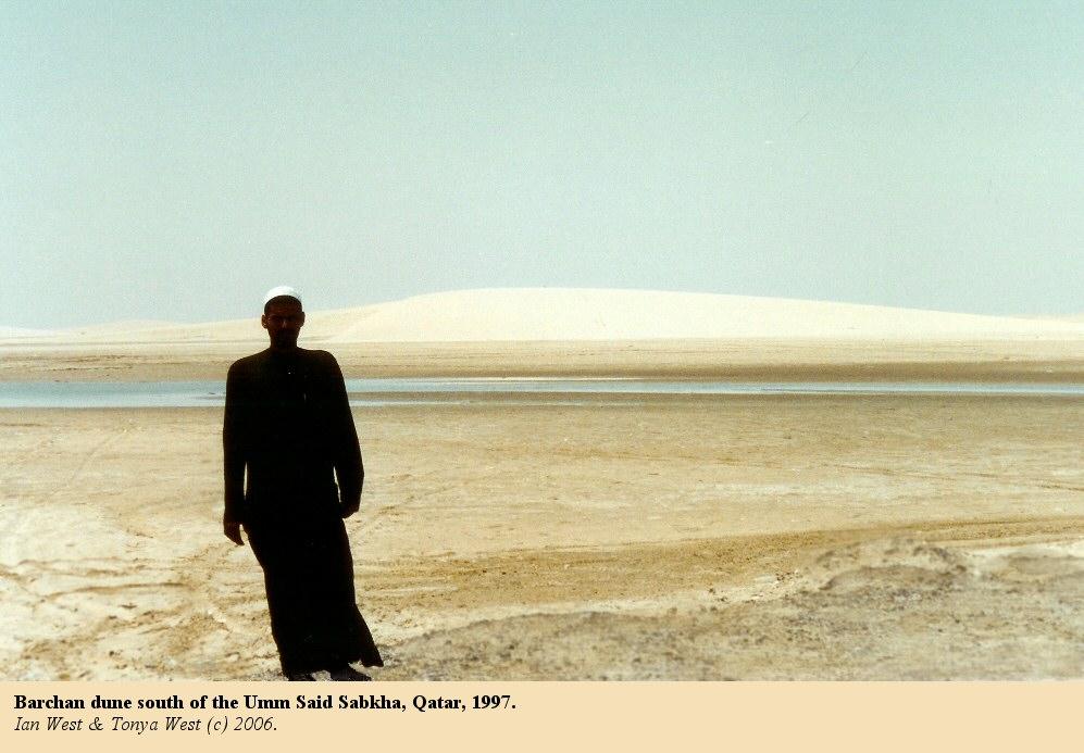 Qatar Geology, Sabkhas, Evaporites and Desert Environments