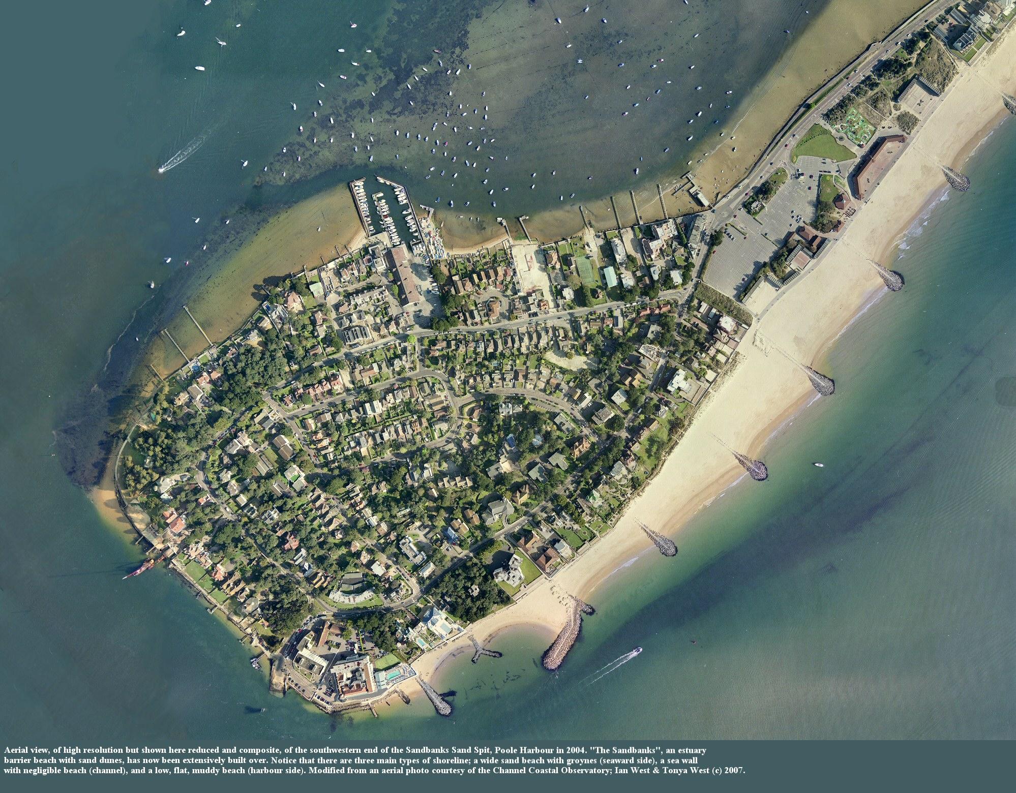 Sandbanks Peninsula Dorset Geology And Geomorphology