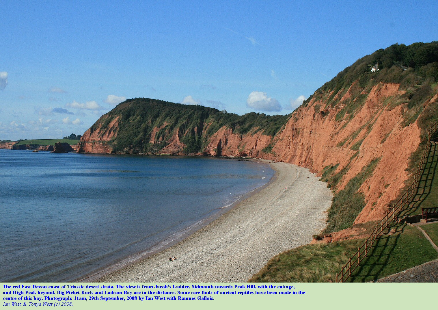 Geology Of Sidmouth And Ladram Bay Devon