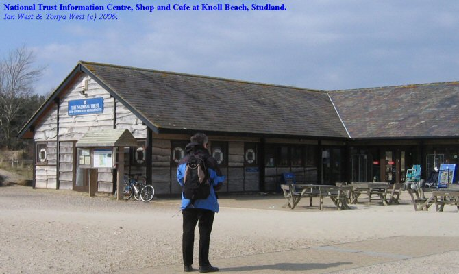 National Trust facilities at Knoll Beach, Studland, Dorset
