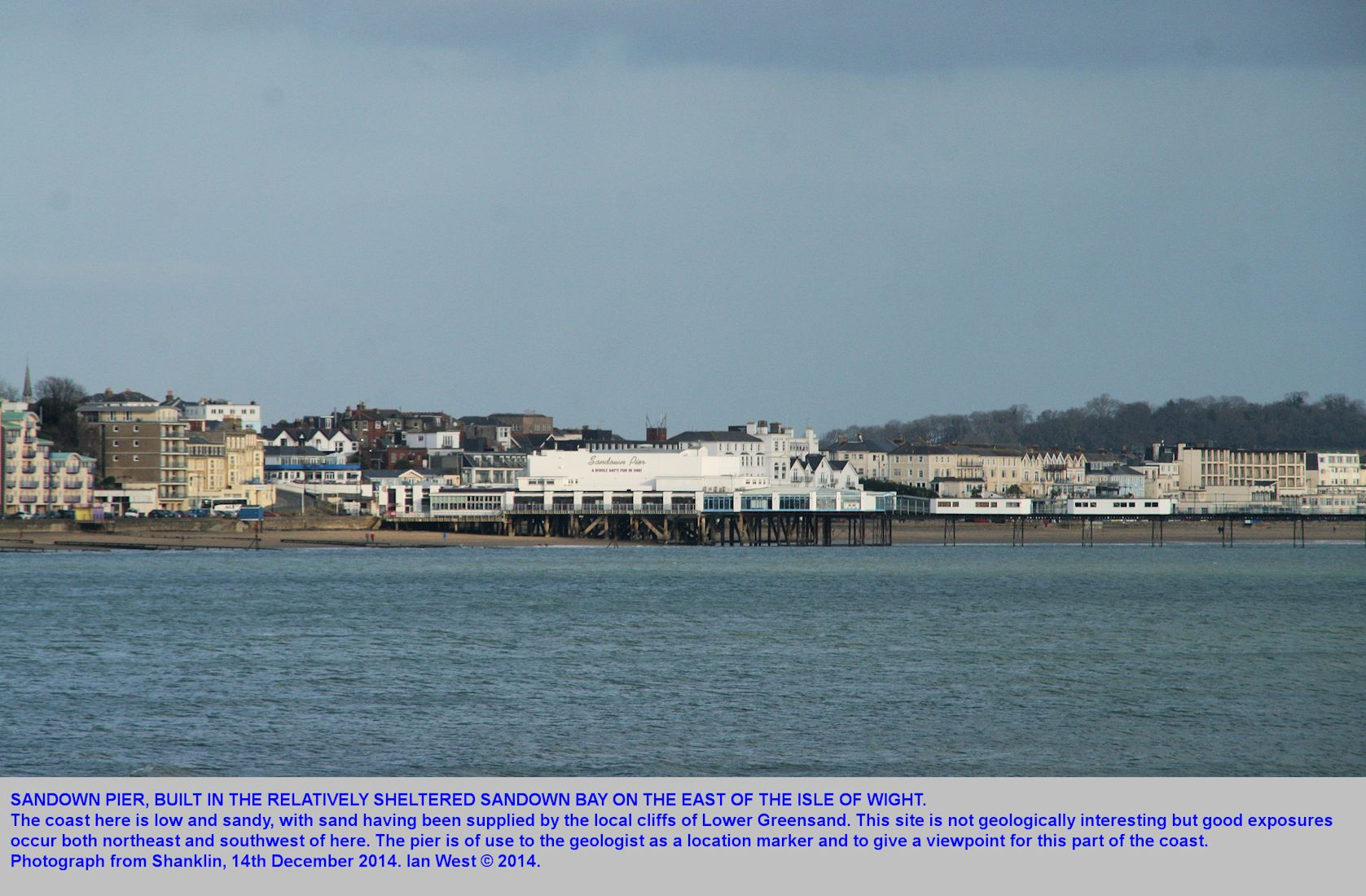 Sandown Pier, Isle of Wight, 14th December 2014