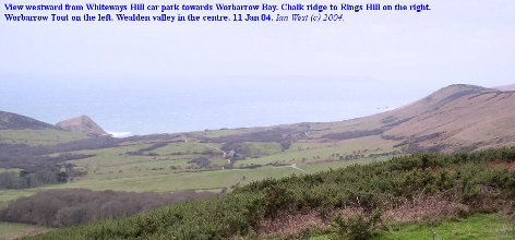 The Wealden Valley at Worbarrow Bay, Dorset