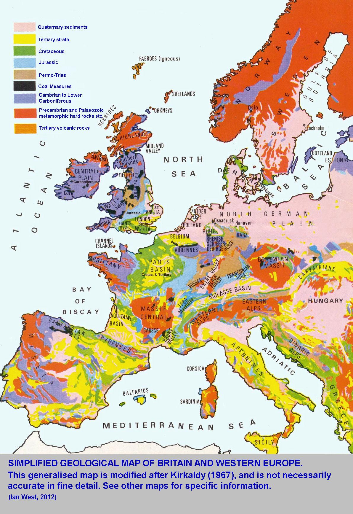 mapa mapa geol243gico de europa