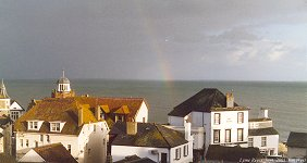 Lyme Regis, Guildhall, Sept. 2001