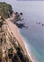 View of Dungy Head from above Red Hole