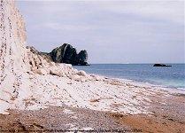Swyre Head - platform of marine erosion