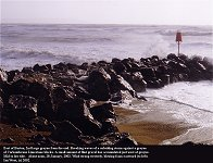 groyne east of Barton in 2002