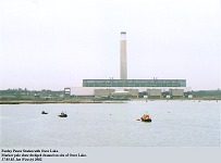 Fawley Power Station from Southampton Water