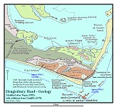 Map of the Geology of Hengistbury Head