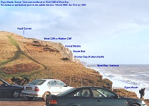 West Cliff or Watton Cliff, near Bridport, 2000