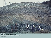 Excavations at Fawley in 1964 down into the Barton Clay