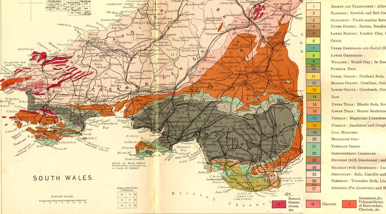 Geology of Great Britain  Introduction and maps  by Ian West