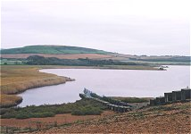 Chesil Beach at Abbotsbury, 18.10.00
