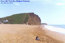 East Cliff, West Bay - of Bridport Sands